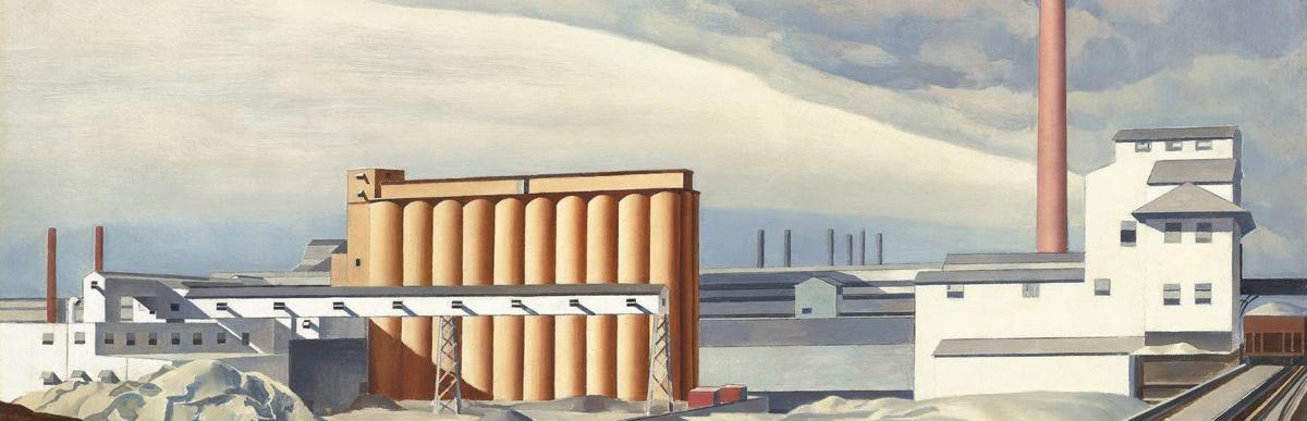 charles_sheeler_classic_landscape_1931