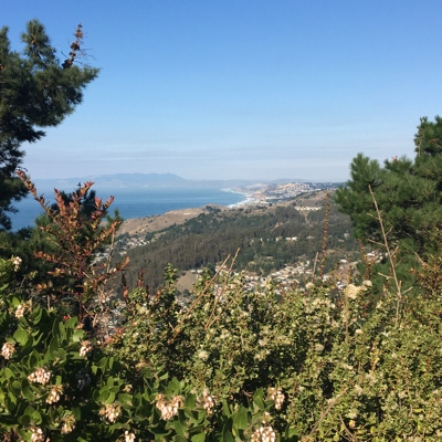 Nature hike at Montara Mountain