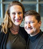 T.J. Mitchell and Judy Melinek