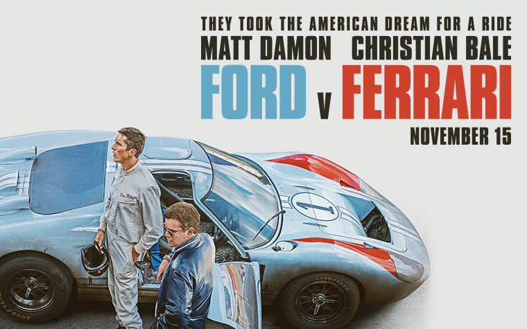 Ford v. Ferrari: Pre-Movie Dinner Party
