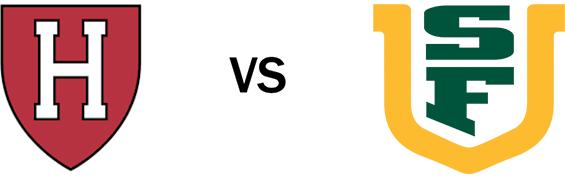 Harvard vs USF